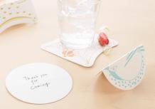 Animal Message Coasters(アニマルメッセージコースター)【生産終了】