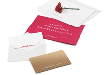 刺繍カード(ギフトシリーズ Gift Embroidery Card)