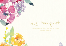 Le bouquet(ルブーケ) 便箋・封筒