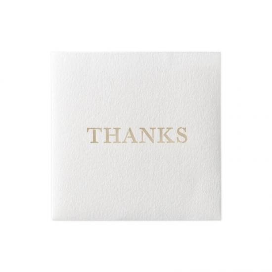 ふたえ カード きり THANKS