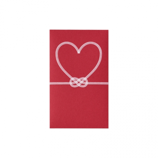 il cuore ぷち袋 赤