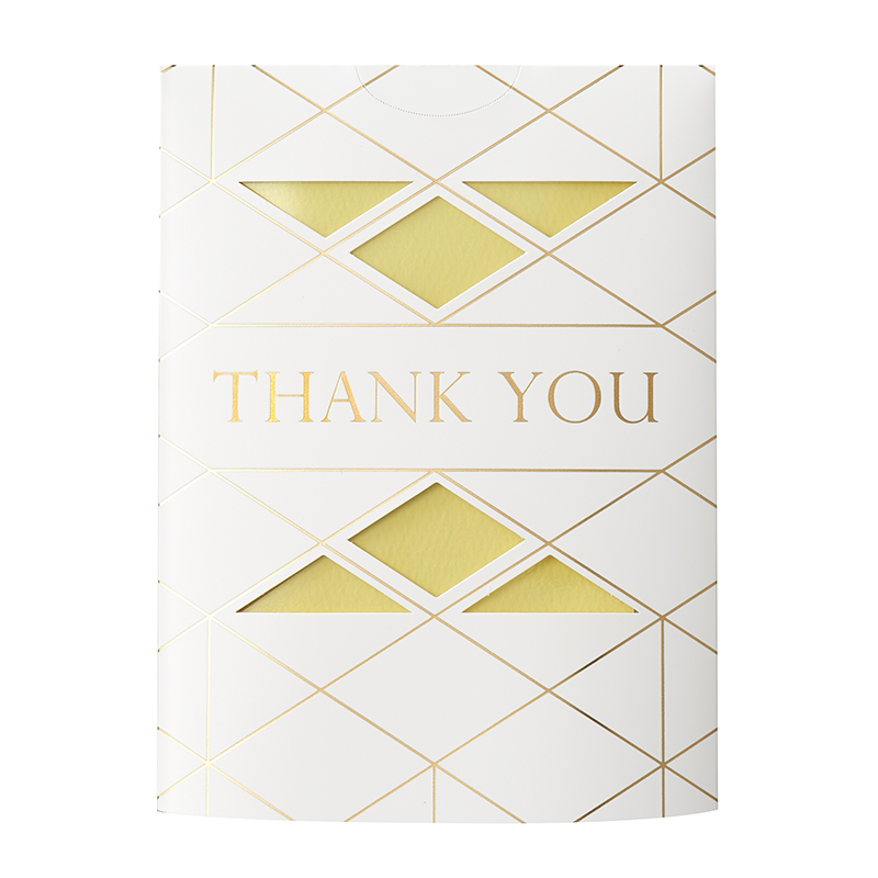 MESSAGE FLOWER VASE THANK YOU YELLOW
