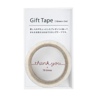 ギフトテープ thank you