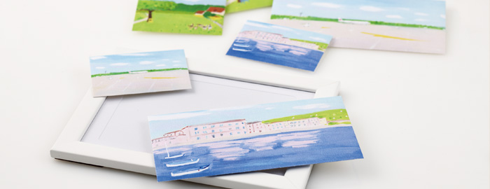 アート封筒 旅